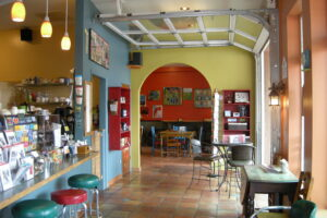 Revitalized coffee shop and restaurant