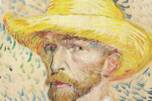 Vincent Van Gogh portrait color palette