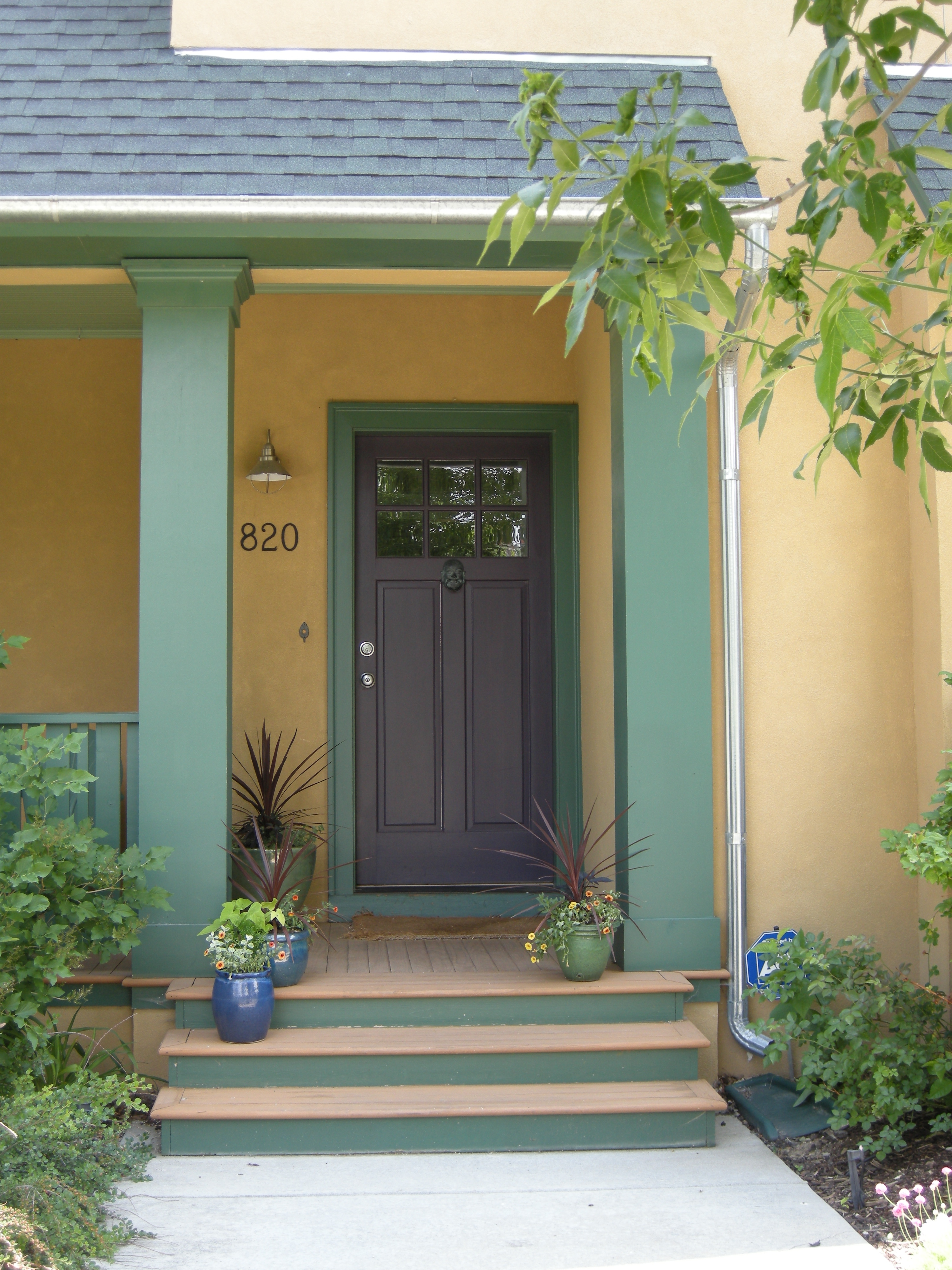 Shut the front door! Thinking about color. : RiversColorworks+Design