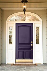 GI. EggPlant-Front-Door. lt gray