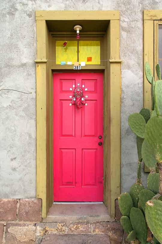 GI. bright pink front_door_8