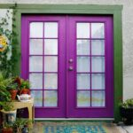 GI. fuchsia purple-front-door-design-3