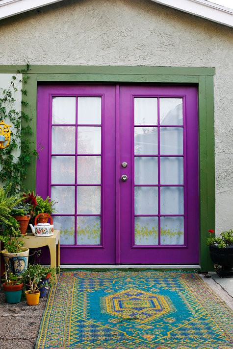 GI. fuchsia purple-front-door-design-3