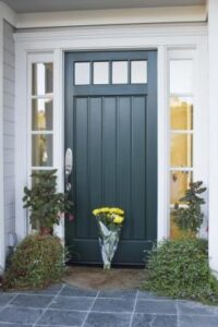 GI. teal front door 2