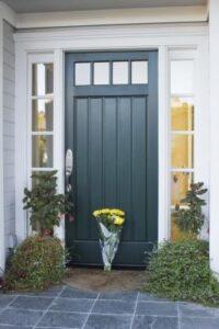 GI. teal front door 2
