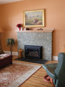 Our local Benjamin Moore dealer, Boulder Valley Paints in Longmont, worked with us to get just the right color match.