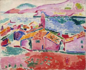 Les toits de collioure.Matisse
