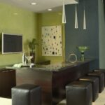 green.gray modern interior