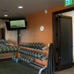 Work out room. Vista Ridge community center. Erie, CO.