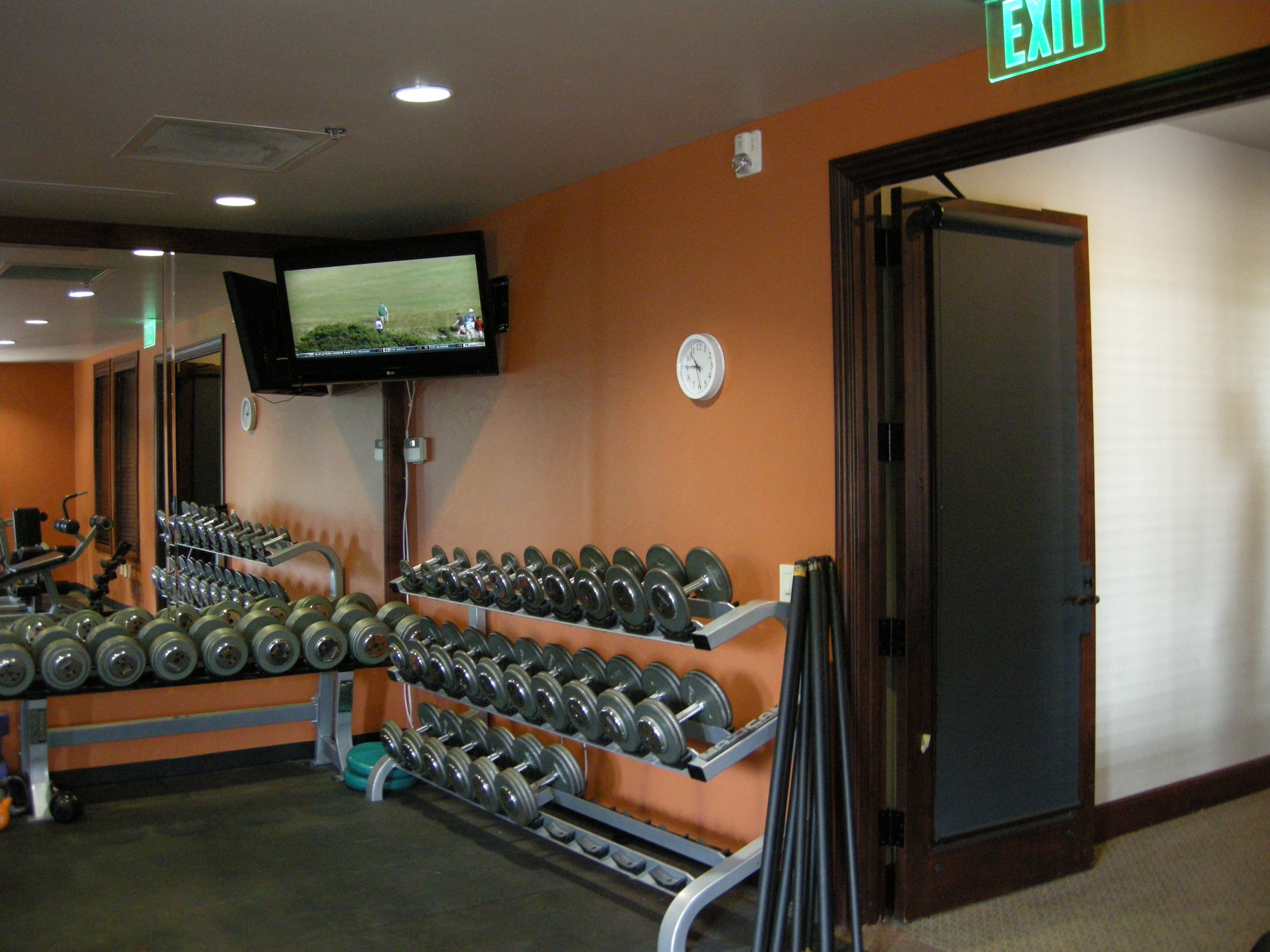 Work out room. Vista Ridge community center. Erie, CO.
