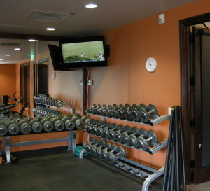 Exercise room. Vista Ridge community Center. Erie, CO.