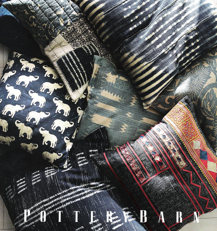Indigo pillows.PB