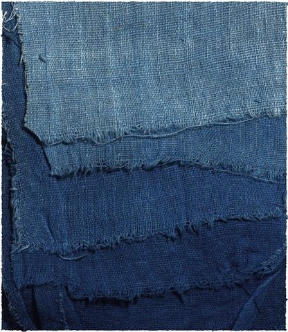 Prussian Blue.P. fabric
