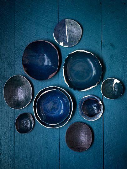 Prussian Blue.ceramics.P