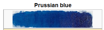 Prussian Blue.paint sample