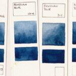 Prussian Blue.watercolors.P