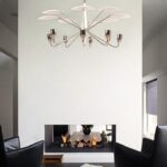ceiling chandelier.contemporary-lighting-mistakes-