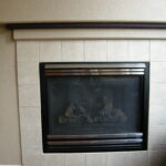 Fireplace before.